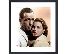 Stormposter Inramad Poster Bogart And Bergman